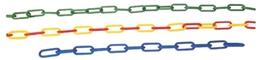 Obrazek łańcuch  żółto-czerwony (długość 1m )