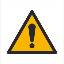 Obrazek dla kategorii Znaki ostrzegawcze PN-EN ISO 7010
