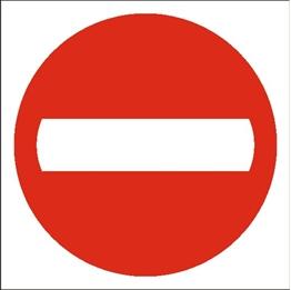 Obrazek Zakaz wjazdu