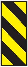 Obrazek oznaczenie ograniczenia skrajni poziomej drogi