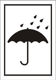 Obrazek dla kategorii Znak Chronić przed wilgocią (701-09)