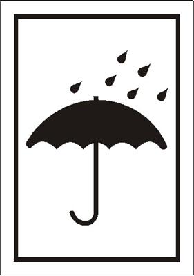 Znak Chronić przed wilgocią (701-09)