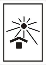 Obrazek dla kategorii Znak Chronić przed nagrzaniem (ciepłem) (701-11)