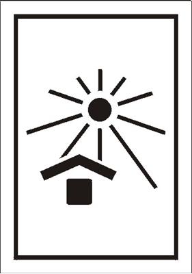 Znak Chronić przed nagrzaniem (ciepłem) (701-11)