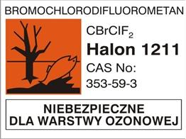 Obrazek dla kategorii Piktogram Halon 1211 (700-16)