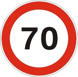 Obrazek dla kategorii Ograniczenie prędkości do 70