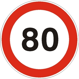Obrazek dla kategorii Ograniczenie prędkości do 80