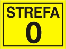 Obrazek dla kategorii Znak Strefa 0 (828-10)
