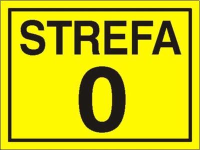 Znak Strefa 0 (828-10)
