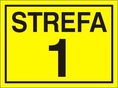 Znak Strefa 1 (828-11)