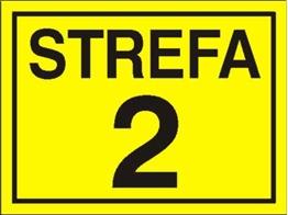 Obrazek dla kategorii Znak Strefa 2 (828-12)