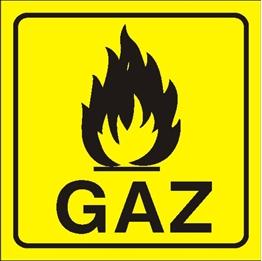 Obrazek dla kategorii Znak Gaz (870-10)
