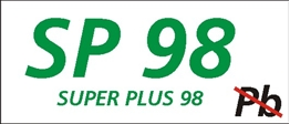 Obrazek dla kategorii Znak Super plus 98 (829-20)