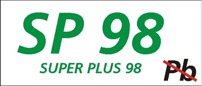 Znak Super plus 98 (829-20)