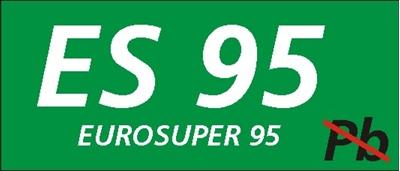 Znak Eurosuper 95 (829-21)