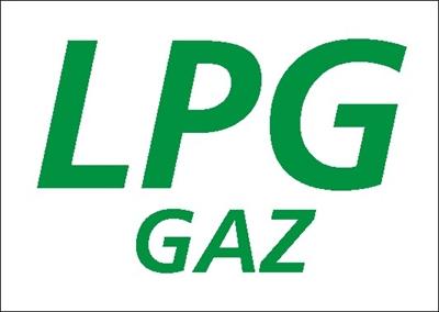 Znak LPG gaz (829-24)