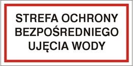 Obrazek dla kategorii Znak Strefa ochrony bezpośredniej ujęcia wody (824-07)