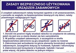 Obrazek dla kategorii 422 XO - 184 Zasady bezpiecznego użytkowania urządzeń zabawowych (422 XO-184)
