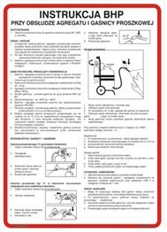 Obrazek dla kategorii 422 XO - 25 Instrukcja obsługi gaśnicy proszkowej (422 XO-25)