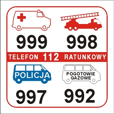 Telefony alarmowe (826-01)