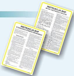 Obrazek dla kategorii Instrukcje BHP dla gastronomii i przemysłu spożywczego