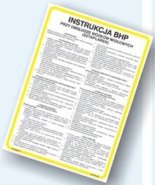 Obrazek dla kategorii Instrukcje BHP - Budownictwo (422 XO-110)