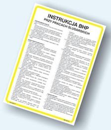 Obrazek dla kategorii Instrukcje BHP dla warsztatów (422 XO-113)