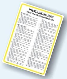 Obrazek dla kategorii Instrukcje BHP dla spawaczy (422 XO-10)
