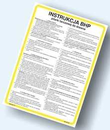Obrazek dla kategorii Instrukcje BHP - Instalacje grzewcze, elektryczne, energetyka itp…. (422 XO-02)