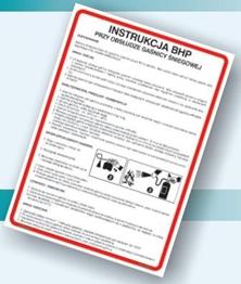 Obrazek dla kategorii Instrukcje BHP - Przemysł włókienniczy i odzieżowy (422 XO-116)