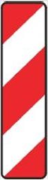 Obrazek tablice do oznaczania skrajni drogi