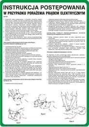 Obrazek dla kategorii 422 XO - 27 Instrukcja ratowania osób porażonych prądem (422 XO-27)