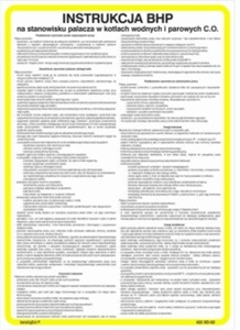 Obrazek Instrukcja BHP dla magazynu smarów i olejów 422 XO - 115