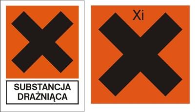 Znak Substancja drażniąca (700-01)