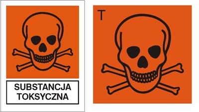 Znak Substancja toksyczna (700-03)