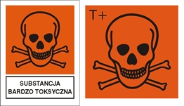 Obrazek dla kategorii Znak Substancja bardzo toksyczna (700-04)