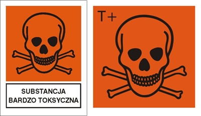 Znak Substancja bardzo toksyczna (700-04)