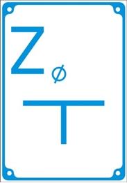 Obrazek Tabliczka orientacyjna z tworzywa sztucznego (szerokość 140mm, długość 200mm, grubość 1mm)