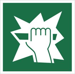 Obrazek dla kategorii Znak ewakuacyjny stłuc, aby uzyskać dostęp (115)