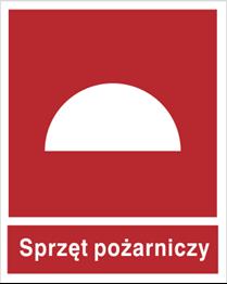 Obrazek dla kategorii Znak Zestaw sprzętu pożarniczego  (bez podpisu) (203)