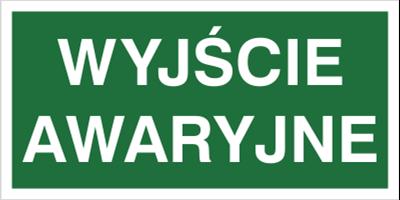 Wyjście awaryjne (104-02)