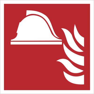 Zestaw sprzętu ochrony przeciwpożarowej wg PN-EN ISO 7010 (F04)