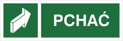 Znak Pchać (112-01)