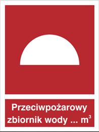 Obrazek dla kategorii Znak Przeciwpożarowy zbiornik wody (223)