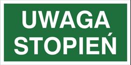 Obrazek dla kategorii Znak Uwaga stopień (152)