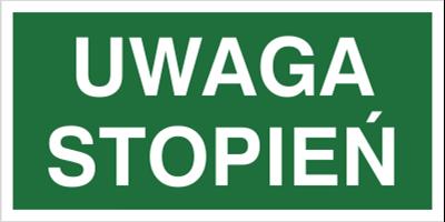Znak Uwaga stopień (152)