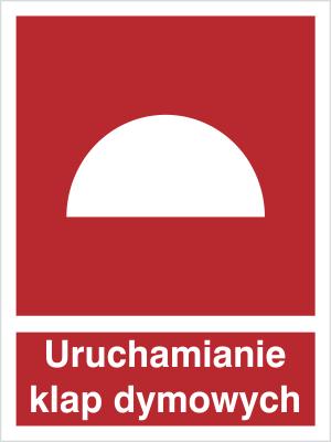 Znak Urządzenie do uruchomiania klap dymowych (227)