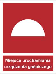 Obrazek dla kategorii Znak Miejsce uruchamiania urządzenia gaśniczego (228)