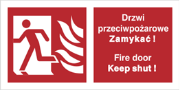 Obrazek dla kategorii Znaki uzupełniające (ochrona ppoż)