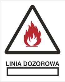 Obrazek dla kategorii Znak Linia dozorowa